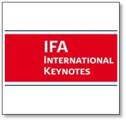 IFA International Keynotes 2014: An outstanding line-up of speakers