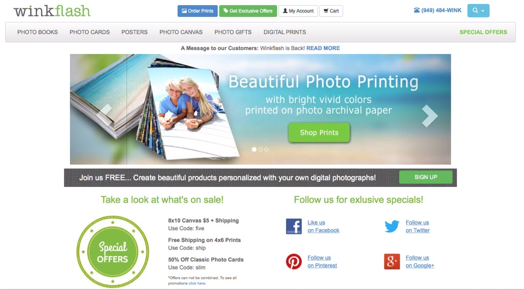MailPix acquires Winkflash — Fast-growing startup purchases assets of veteran online photo site
